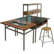 Bộ bàn ghế thí nghiệm