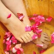 Bồn ngâm chân gỗ sồi