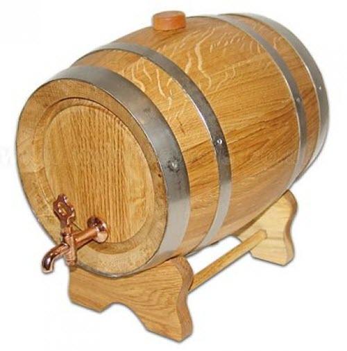 Thùng gỗ đựng rượu gỗ sồi
