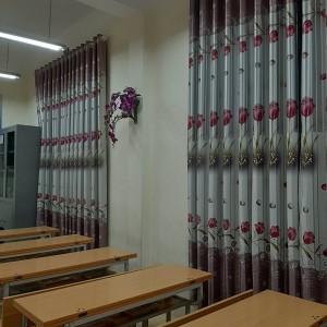 Rèm vảitrang trí lớp họctại Hà Nội