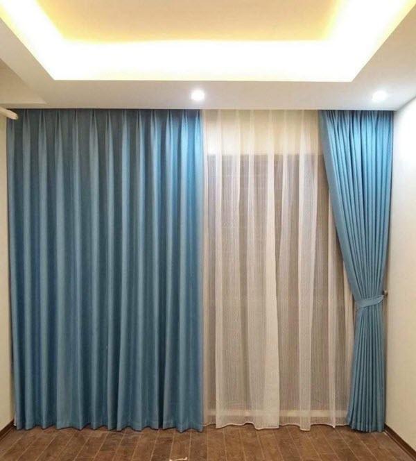 Rèm vải trang trítại Sóc Sơn, Hà Nội