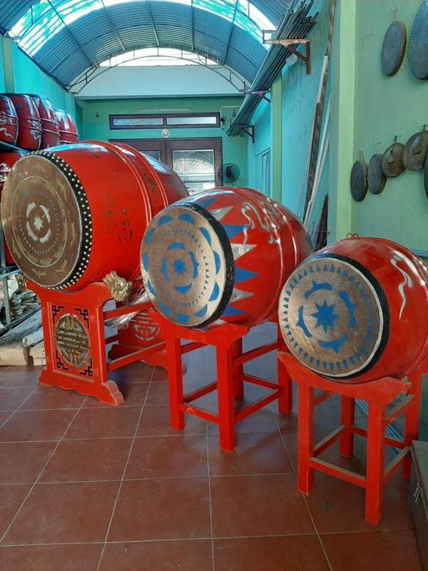 Trống đình chùa tại Hà Nội, Sóc Sơn, Đông Anh, Bắc Ninh, Vĩnh Phúc, Hà Nam, Thái Nguyên, Phổ Yên